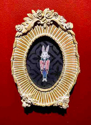A Whimsical Rabbit of Diligent Habit