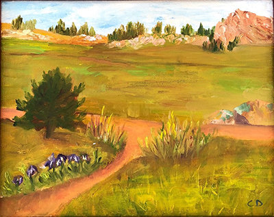 """Roaming on the Ridge"" by Claudia Deere"