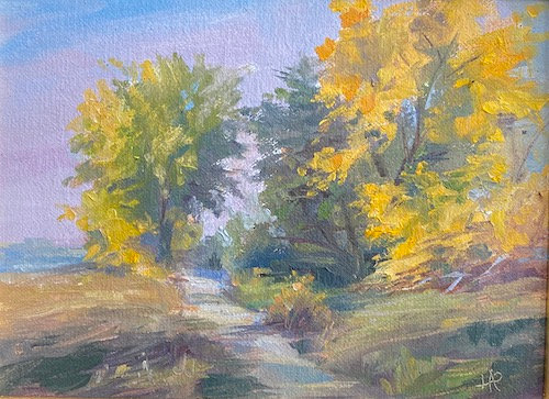 """""""Afternoon Glow"""" by Lydia Pottoff"""