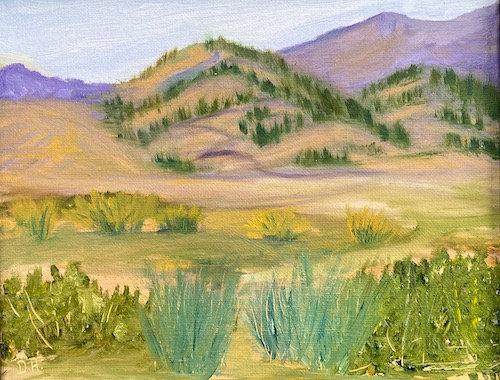 """Blue Sage"" by Danitza Hill"