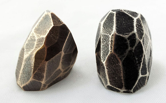 Faceted Statement Ring
