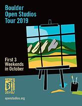 Open Studios 2019 Catalog Cover