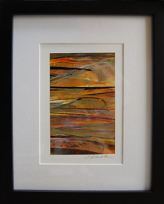 """8""""x10"""" Original Acrylic Painting, Matted & Framed  #1"""