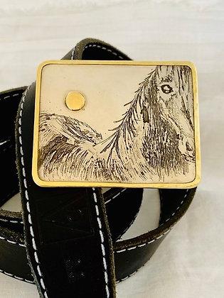 Horse Belt Buckle
