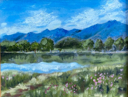 """Boulder Open Space"" by Karla Balanski"