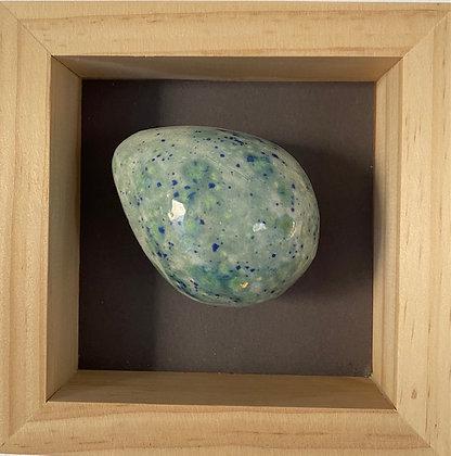 """""""Ceramic Egg Framed"""" by Eva Maier"""