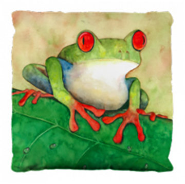 Frog Pillows