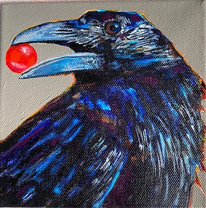"""""""Crow's Prophetic Message"""" by Tami Satterfield"""