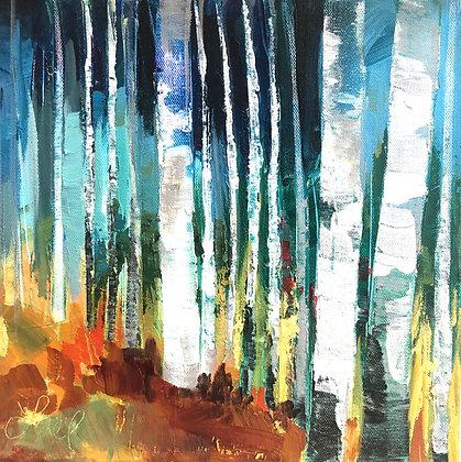 """""""Aspen Blues"""" by Lael Har"""