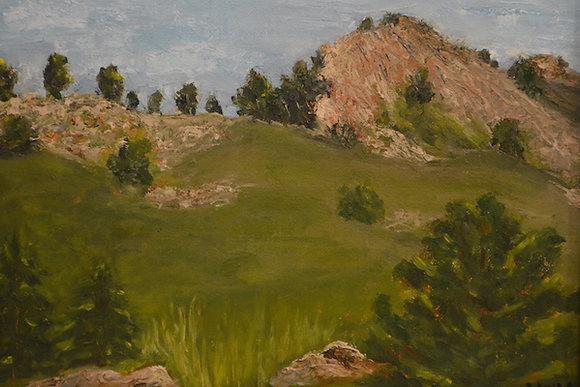 """Dakota Ridge Spring"" by Laurie Williams Hall"