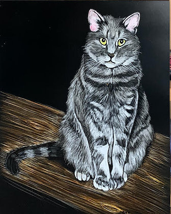 Pet Portrait Quickdraw Donation (sample image only)