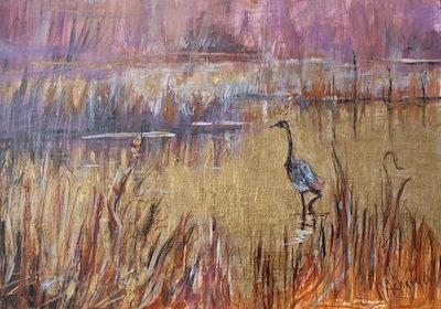 """""""Golden Pond"""" by Gretchen Acharya"""