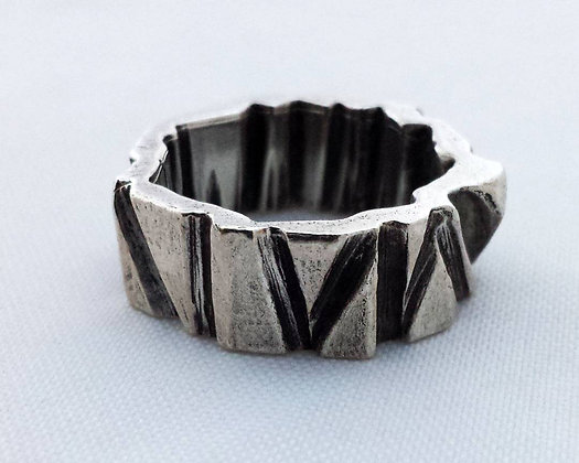 Carved Unisex Rings