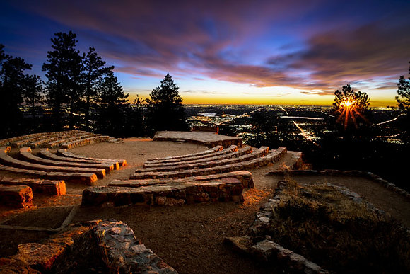 Amphitheater Sunrise