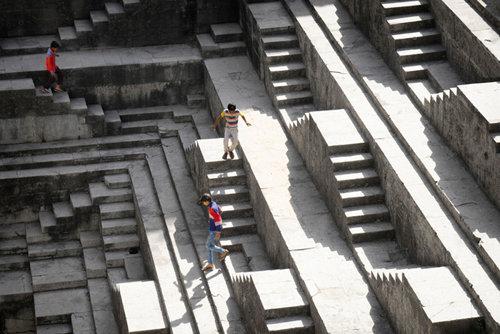 Running Through an Escher