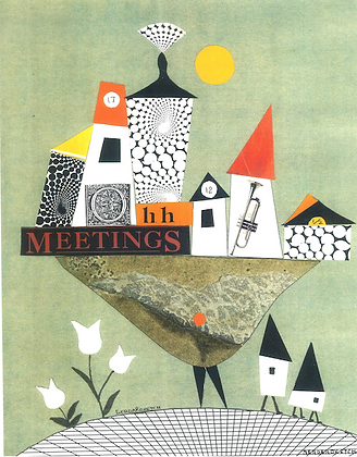 Meetings Art Print