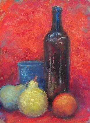 Stil Life With Bottle