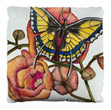 Swallowtail Pillow