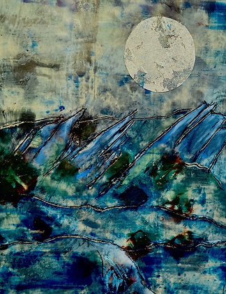 Flatirons by Moonlight