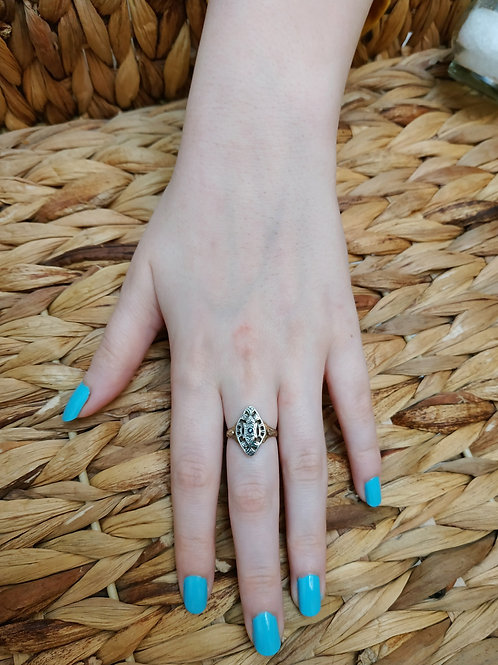 Two Hidden Hearts Ring