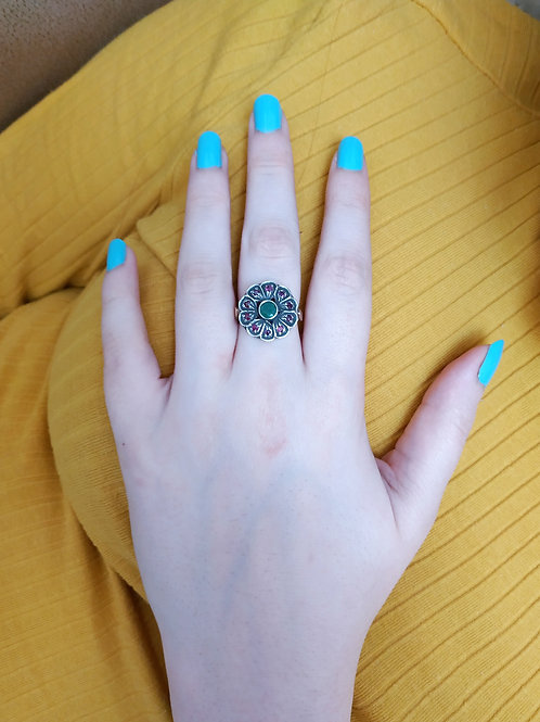 Flowery Exceptional Design Ring