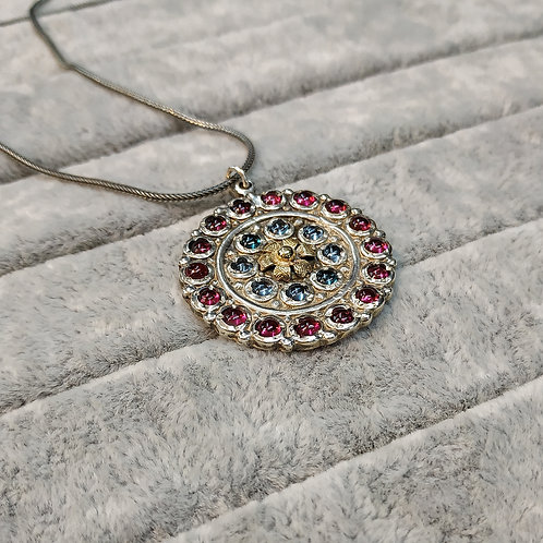 The blue and red pendant