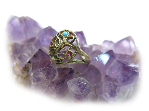 The hidden flower ring
