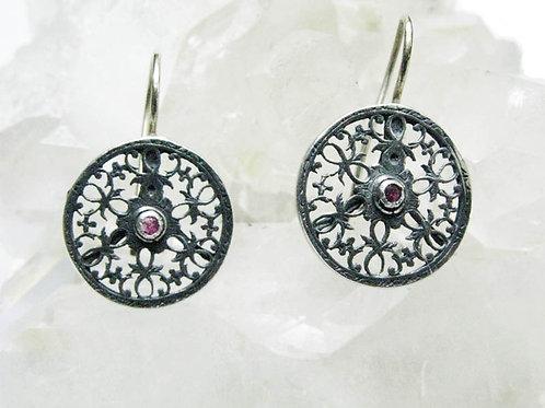 Victorian Design Earrings