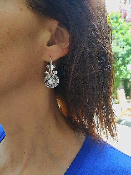 Art Deco earrings 008