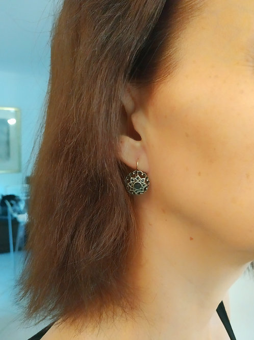 Victorian style earrings 011