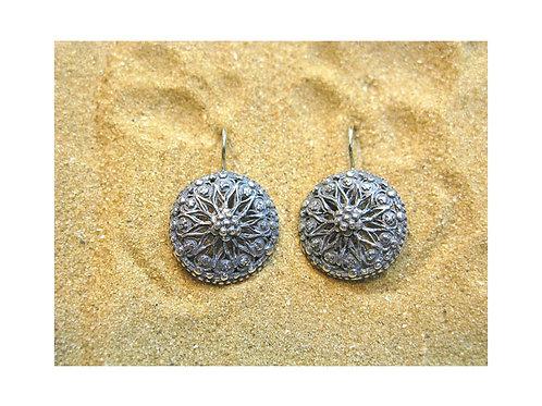 """The """"Sunflower"""" Earrings"""