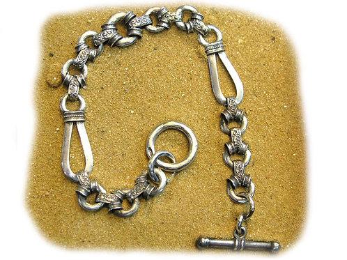 Victorian Style Bracelet - Silver