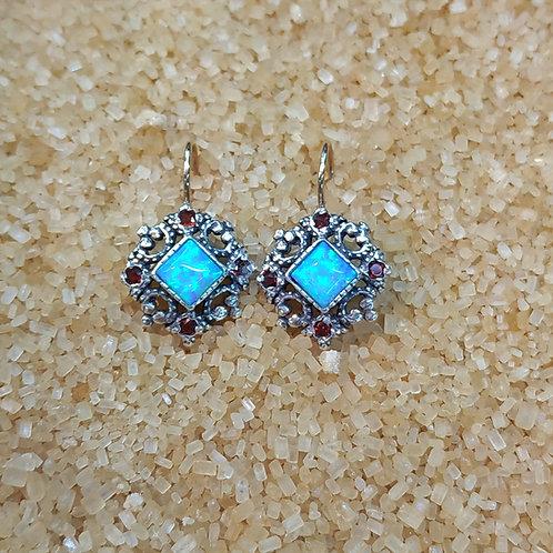 Victorian style earrings 009