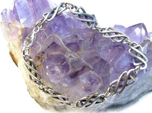 Victorian Infinity Line Bracelet