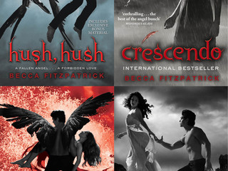 Hush, Hush (series) by Becca Fitzpatrick