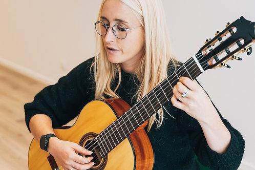 10 x klassieke gitaarles met Valerie Rysman