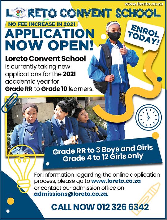 LORETO CONVENT SCHOOL_Advert final proof