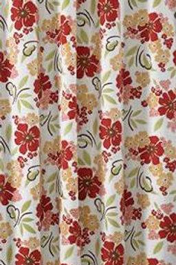 "Poppy Shower Curtain 72"" x 72"" #158-45"