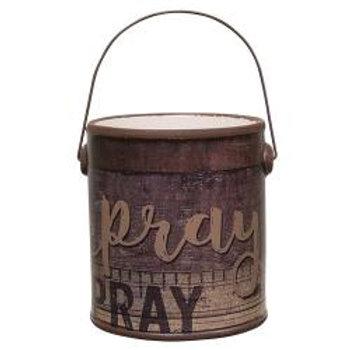 Pray Crock w/Handle #G38393