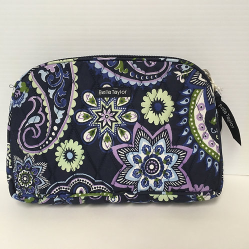 "Bella Taylor Makeup Pouch Madrona 8.75x2.50""x5.50"" #326"