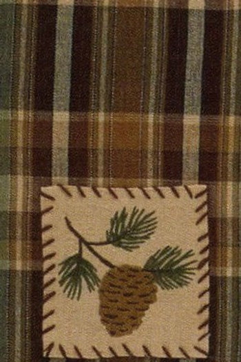 Wood River Decorative Dishtowel #479-19