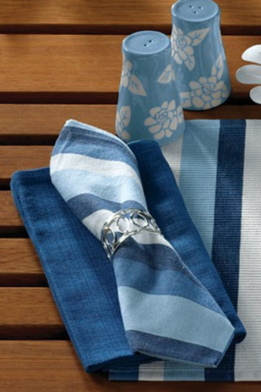 Cool Blue Napkin #584-02