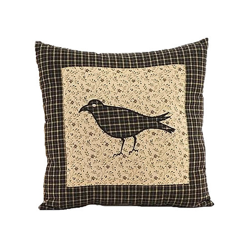 """Kettle Grove Pillow Crow Cover 16""""X16"""""""