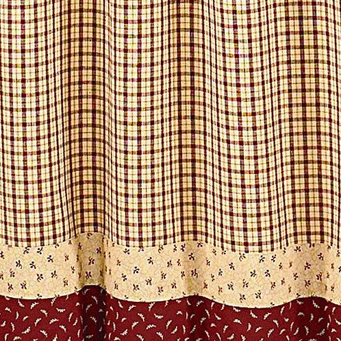 Apple Jack Shower Curtain #447-45