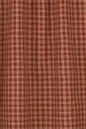 "Sturbridge Shower Curtain -Wine 72""x 72"" #315-45K"