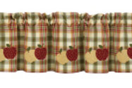 Apple Lined Valance #619-47A