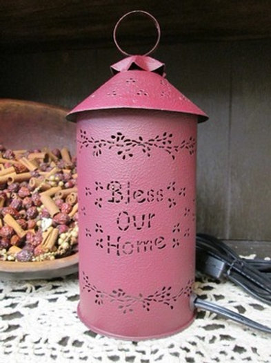 Bless Our Home Tart/Melt Warmer Burgundy #915546