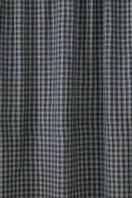 Sturbridge Navy Shower Curtain 315-45H