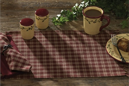 Sturbridge Placemat - Wine #315-01K