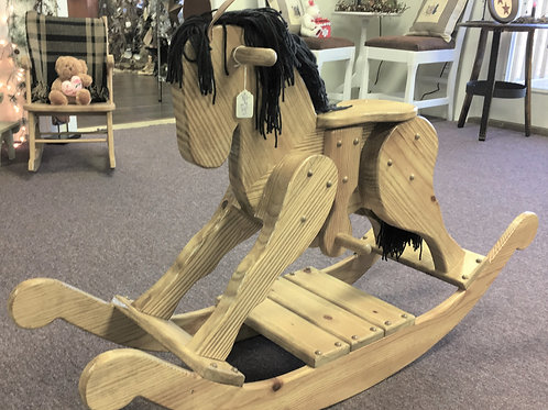 Child's Oak Handcrafted Rocking Horse # PS2